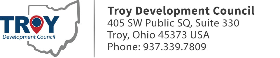 Troy Development Council | 405 SW Public SQ, Suite 330 | Troy, Ohio 45373 USA | Phone: 937.339.7809
